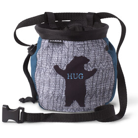 Prana Graphic Chalk Bag with Belt atlantic bear hug